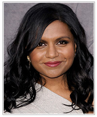 Mindy Kaling hairstyles