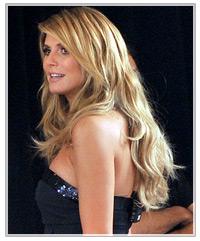 Heidi Klum hairstyles