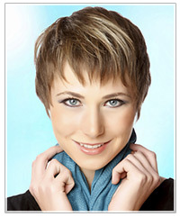 Most popular short salon hairstyle