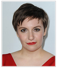 Lena Dunham hairstyles
