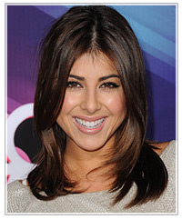 Daniella Monet hairstyles