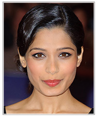 Freida Pinto hairstyles