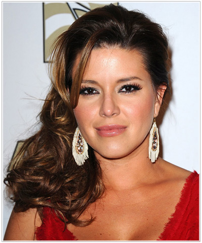 Alicia Machado hairstyles