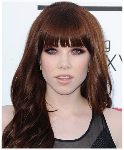 Carly Rae Jepsen hairstyles