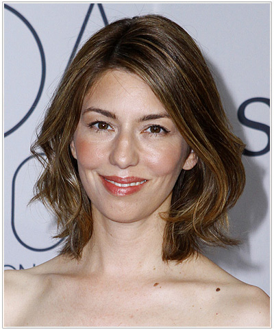 Sofia Coppola hairstyle