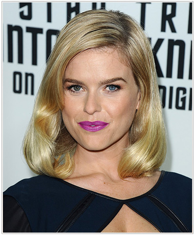 Alice Eve hairstyle