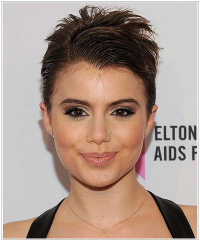 Sami Gayle hairstyle