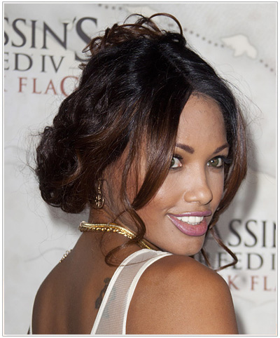 K. D. Aubert Hairstyle