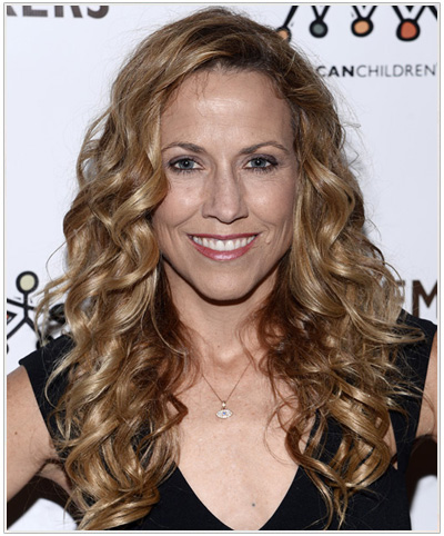 Sheryl Crow hairstyle