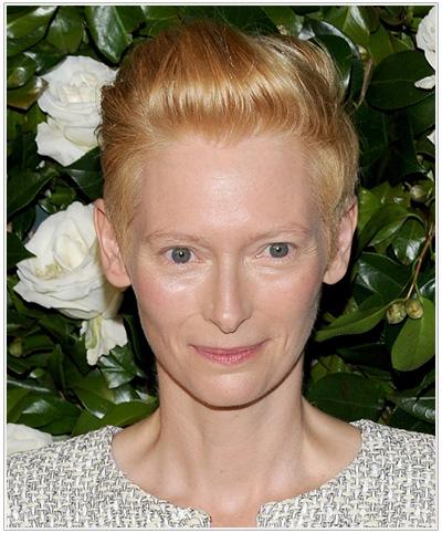 Tilda Swinton hairstyle
