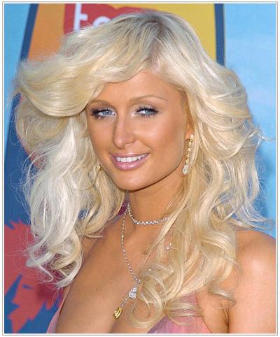 Paris Hilton hairstyle