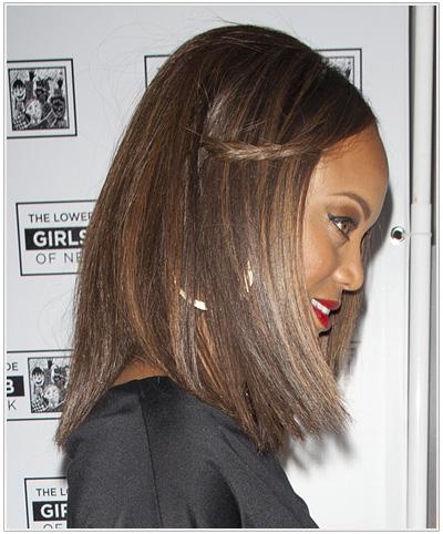Tyra Banks hairstyle