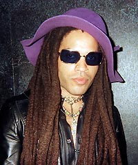 Lenny Kravitz hairstyles