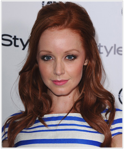 Try on Lindy Booth hairstyles