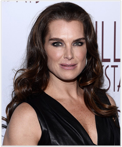 Brooke Shields hairstyles