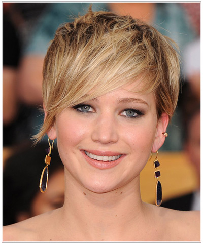 Jennifer Lawrence hairstyles