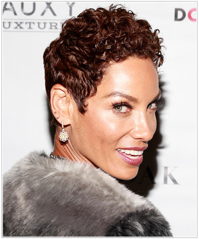 Nicole Mitchell hairstyles