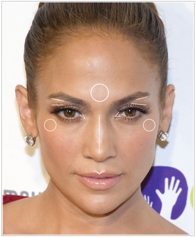 Try on Jennifer Lopez hairstyles