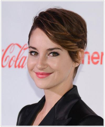 Shailene Woodley hairstyles
