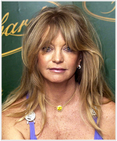 Try On Goldie Hawn hairstyles