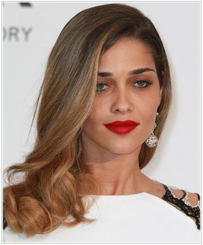 Ana Beatriz hairstyles