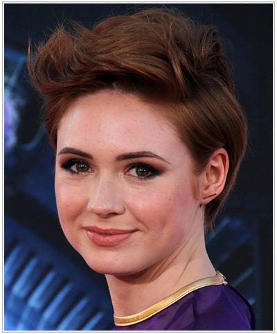Karen Gillan Short hairstyle