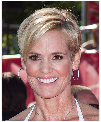 Dara Torres Side Swept hairstyle