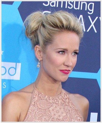 Anna Camp updo hairstyle