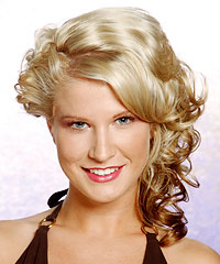 Prom Hairstyles: Wavy Hair