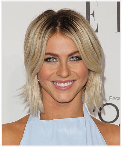 Julianne Hough Medium Straight Hairstyle.