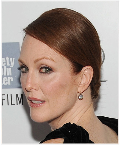 Julianne Moore Formal Updo.