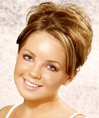 Prom hairstyle upsmooth