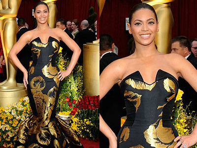 Beyonce Knowles: Oscars Hair 09