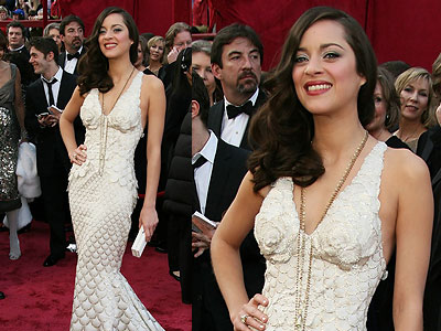 Marion Cotillard: Oscars Hair 08