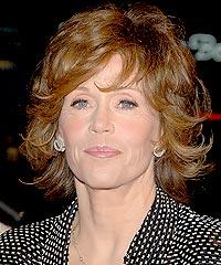 Jane Fonda hairstyles