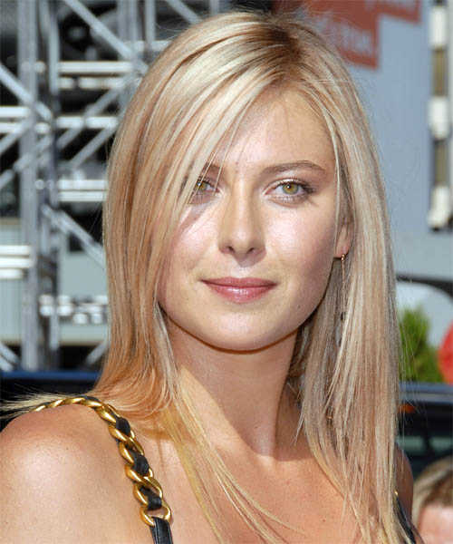 maria sharapova tennis player. Maria Sharapova hair style