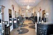 """Lovely salon!  You feel great as  you walk in and feel the chic vibe,"" Salon Client on Yelp"