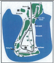 Darwin Wright Park - Disc Golf Course Layout