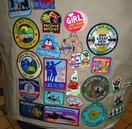Amelia Baker's merit badges.