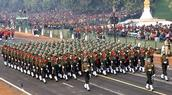 Republic Day parade shows the strength of Indian Force and dedicated to all freedom fighters of India Photo Credit: Shubham Pandey