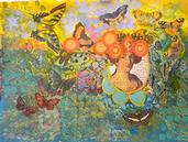 Lady Butterfly by Sally Haig   (Mixed Media) Photo Credit: PAL Member Gallery