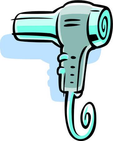 keywords 1 appliance blow dryer cable cartoon clip art clip arts ...