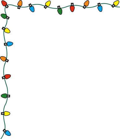 and frames christmas lights border or christmas light border clip ...