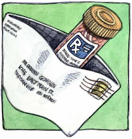 Mailing prescriptions