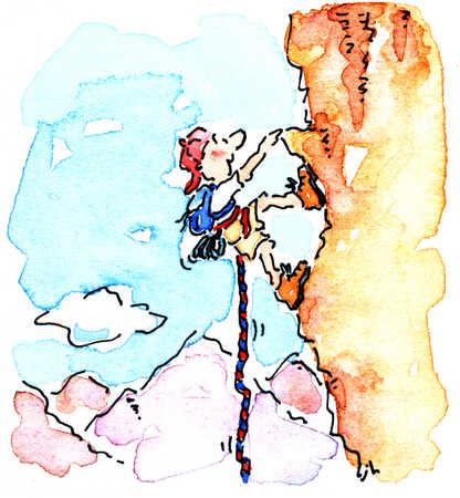 Mountain Climber Challenge Mountain Mountain Climber