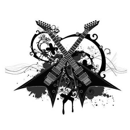 Guitar Designs Drawings Drawing Electric Guitar