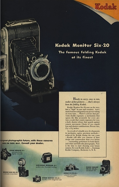 Medium kodak monitor six 20