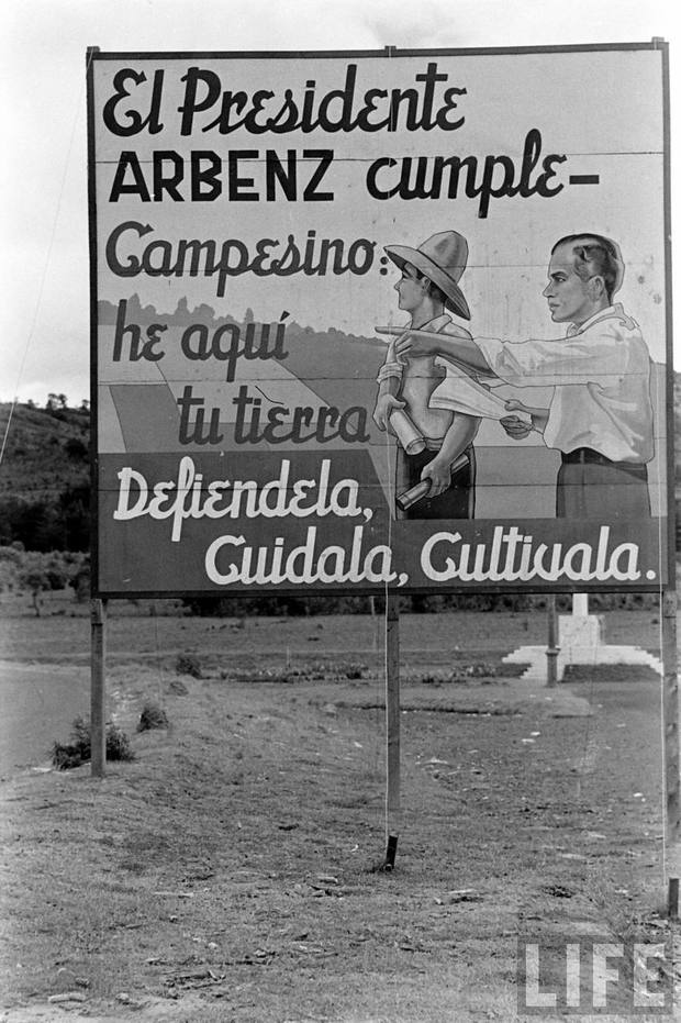 Medium better resolution  capa billboard guatemala 1953