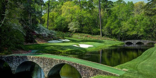 2017 Masters Golf Tournament Tickets and Badges
