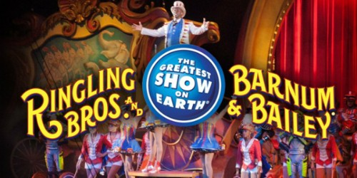 Ringling Bros. and Barnum & Bailey Circus Tickets!